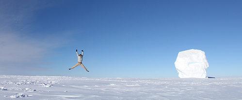 Jak vyhledat vzdálenost na Jižní pól.